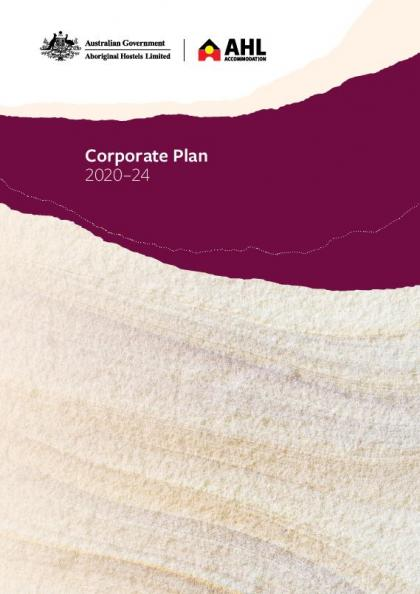 AHL Corporate Plan 2020-24